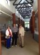 Judy Weinberg, Buzz Steinberg, David Weinberg at Kaplan Center of Judaic Studies at University of Cape Town